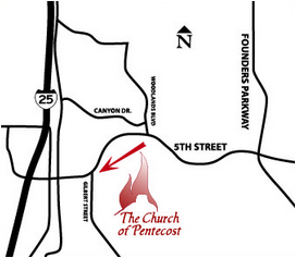 Church of Pentecost - Location